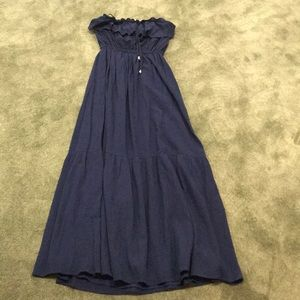 NWT juicy couture ruffled Maxi dress